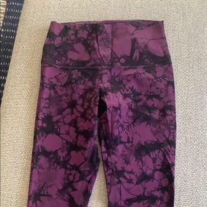 lululemon athletica Pants & Jumpsuits - Lululemon Shiboya Tie-Dye Leggings, Size 8